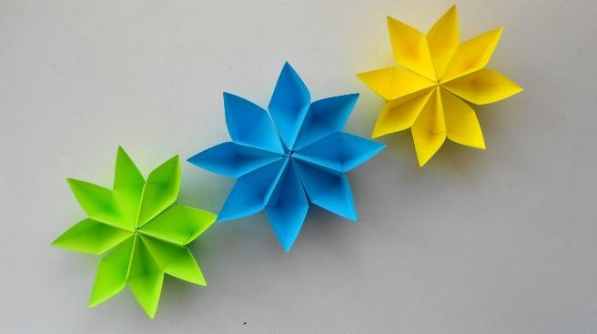 Цветы из бумаги — схемы и шаблоны для создания бумажных цветов этап 129