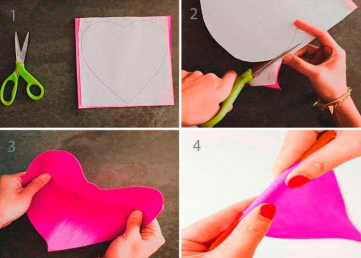 Цветы из бумаги — схемы и шаблоны для создания бумажных цветов этап 135
