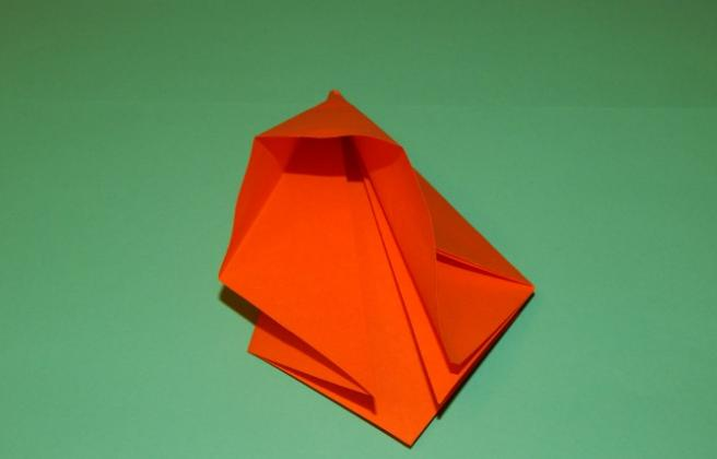 Цветы из бумаги — схемы и шаблоны для создания бумажных цветов этап 90