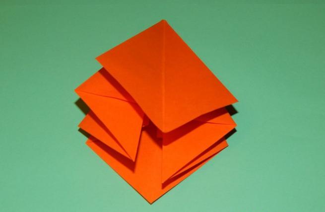 Цветы из бумаги — схемы и шаблоны для создания бумажных цветов этап 93