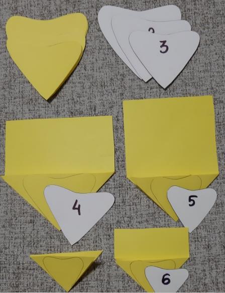 Цветы из бумаги — схемы и шаблоны для создания бумажных цветов этап 22