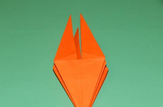 Цветы из бумаги — схемы и шаблоны для создания бумажных цветов этап 105