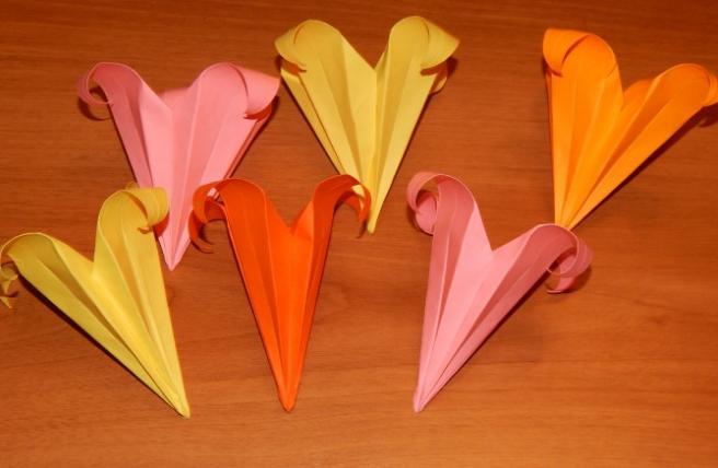 Цветы из бумаги — схемы и шаблоны для создания бумажных цветов этап 112