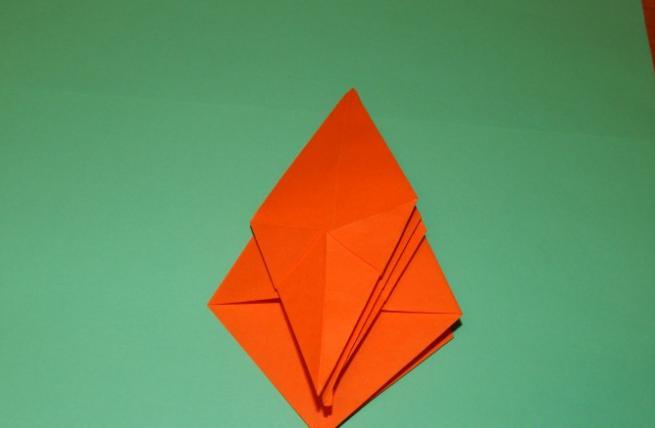 Цветы из бумаги — схемы и шаблоны для создания бумажных цветов этап 98