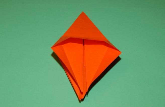 Цветы из бумаги — схемы и шаблоны для создания бумажных цветов этап 99
