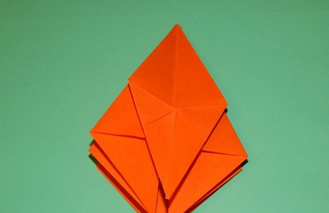 Цветы из бумаги — схемы и шаблоны для создания бумажных цветов этап 95