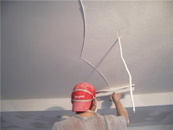 Как зашпаклевать потолок своими руками + видео?