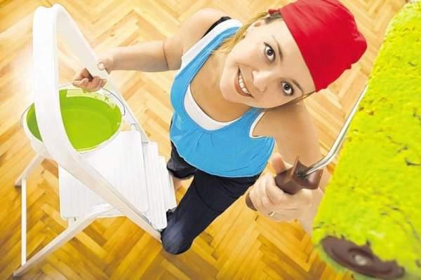 Как правильно красить потолок : советы из практики профессионалов
