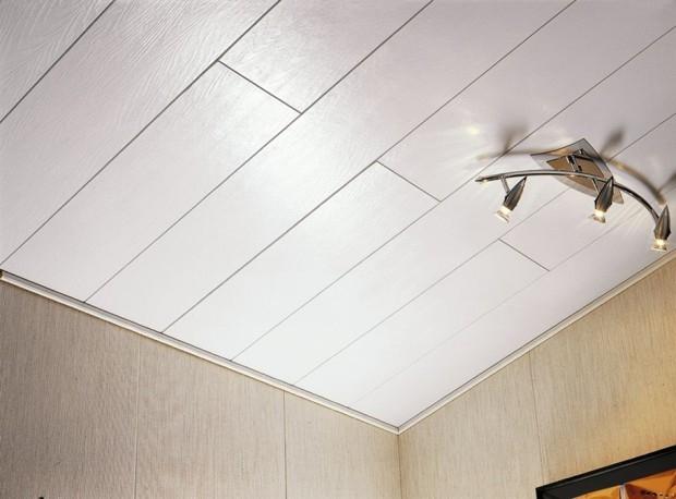 Монтаж пластиковых панелей на потолок : пособие к применению