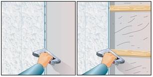 Как крепить пвх панели на потолок