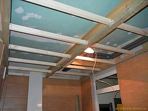 деревянная обрешетка для пвх панелей