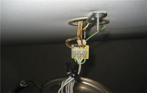 Как соединить провода в люстре : этапы монтажа