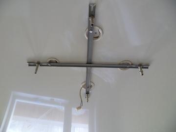 планка монтажная крест для натяжного потолка