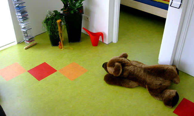линолеум в детскую комнату
