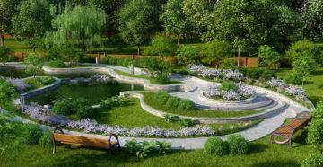 О проектировании и создании ландшафтного дизайна