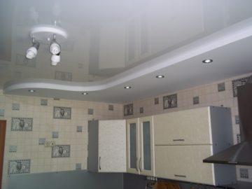 Натяжные потолки  избавление от недоевшего ремонта