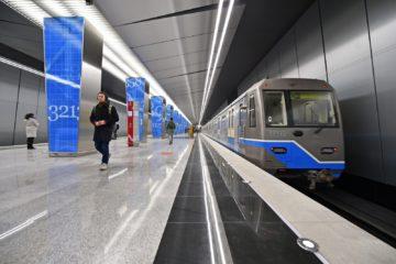 Новые станции метро в Москве по Калининско-Солнцевской ветке