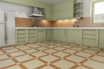 Напольные покрытия для кухни керамическая плитка