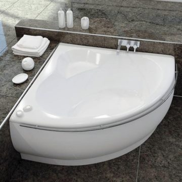 Недорогие стальные ванны