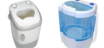 О миниатюрных стиральных машинах
