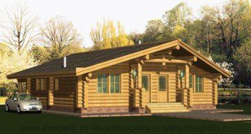 О деревянных домах. Дома из бруса