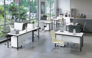 Металлическая мебель: как выбрать офисные стеллажи, тумбы и шкафы
