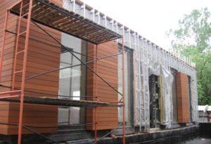 Отделка домов методом вентилируемого фасада