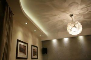 Как сделать короб из гипсокартона на потолке своими руками