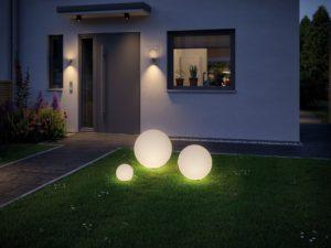 Уличный шар светильник: особенности выбора