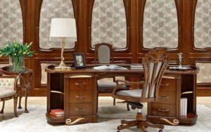 Стиль мебели для рабочего кабинета