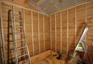 Обрешетка стен под вагонку: технология монтажа вагонки