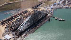 Киев обвинил Россию в изоляции из-за строительства Крымского моста