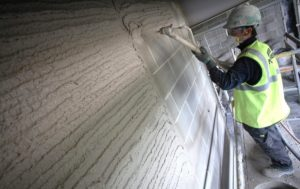 Штукатурка на основе гипса с цементом