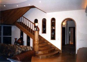 Лестница – функциональный и эстетичный элемент интерьера