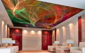 Как выбрать цвет для натяжного потолка?