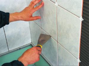 Технология расчета клея для плитки