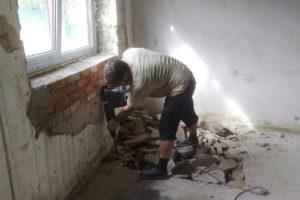 Демонтаж штукатурки со стен своими руками