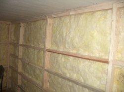 Теплоизоляция бытовок базальтовым волокном