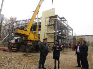 Главгосстройнадзор выявил нарушения чистоты и порядка на стройплощадке в Щелково