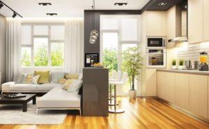 Особенности ремонта квартиры-студии