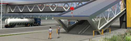 У станции метро «Филатов луг» появится перехватывающая парковка