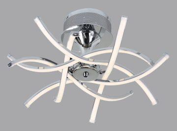 Светодиодные люстры — стиль, функциональность и практичность