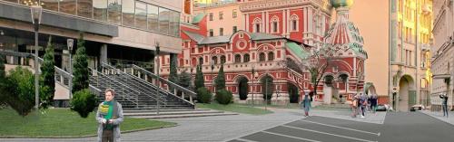 Улица Ильинка станет удобнее для пешеходов и водителей