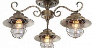 Потолочные люстры и другие источники освещения для комфорта