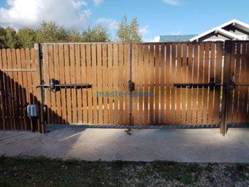 Как выбрать автоматику для распашных ворот?