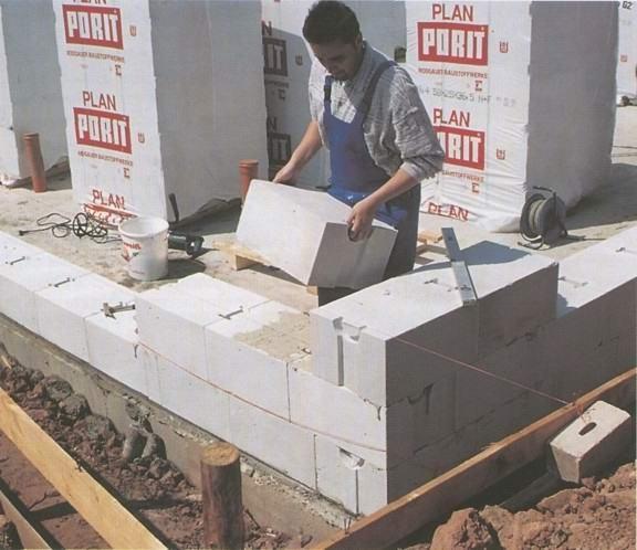Как правильно заводить углы и строить капитальные стены