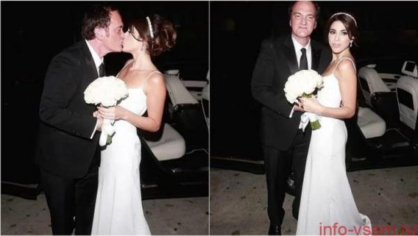 Квентин Тарантино впервые женился — все подробности