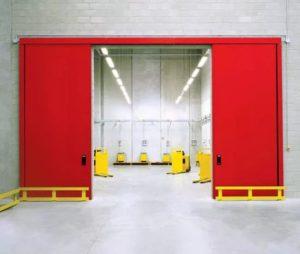 Противопожарные ворота: виды и характеристики