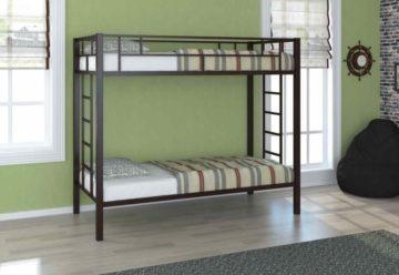 Преимущества металлических двухъярусных кроватей