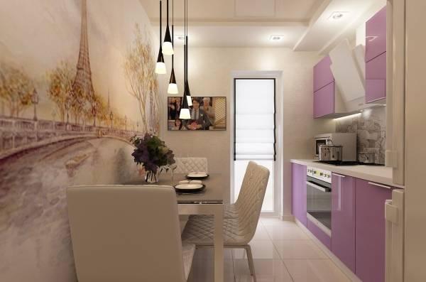 Фотообои в интерьере кухни: 9 советов по выбору и оформлению + фото
